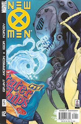 New X-Men 124 - Superdestroyer