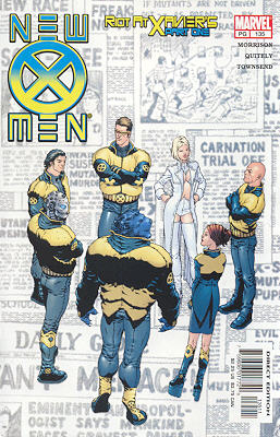 New X-Men 135 - Teaching Children About Fractals