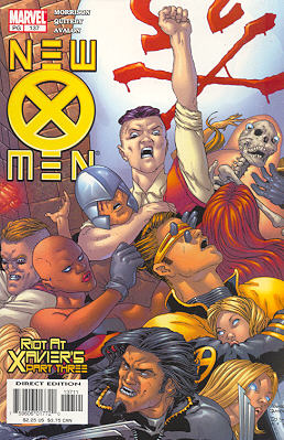 New X-Men 137 - Riot at Xavier's