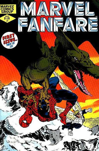 Marvel Fanfare 1 - Fast Descent Into Hell; Snow