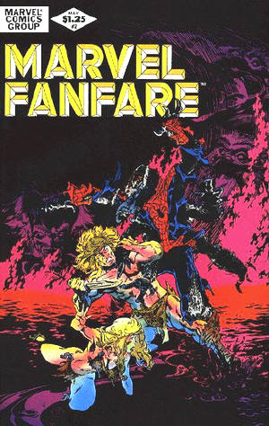 Marvel Fanfare 2 - To Sacrifice My Soul