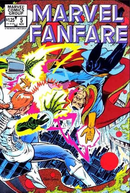 Marvel Fanfare 5 - #5