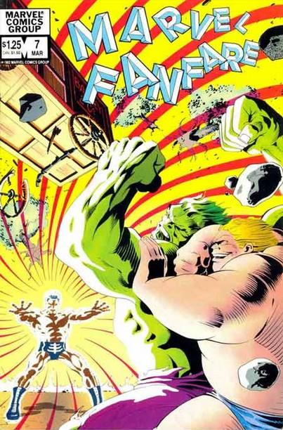Marvel Fanfare 7 - #7