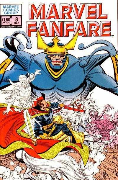 Marvel Fanfare 8 - #8