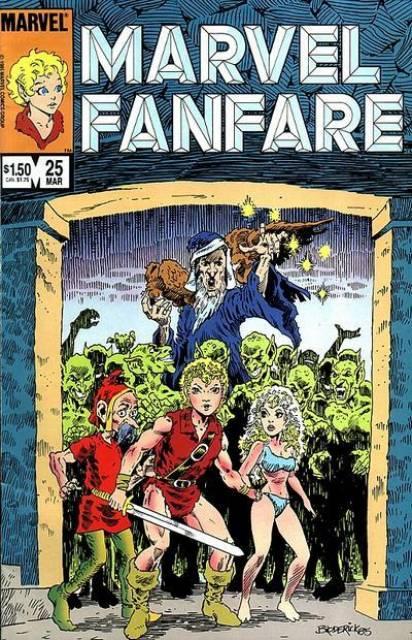 Marvel Fanfare 25 - #25