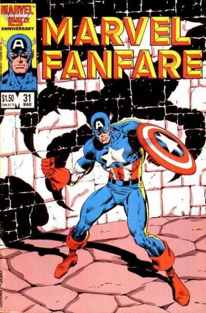Marvel Fanfare 31