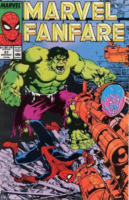 Marvel Fanfare 47