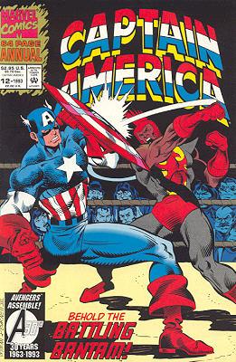 Captain America 12 - captain america annual 12