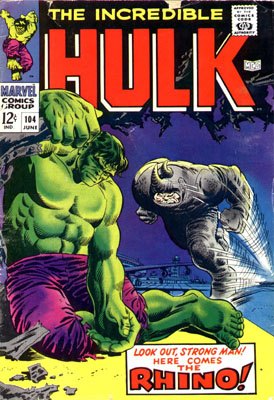 The Incredible Hulk 104 - Ring Around the Rhino!