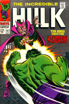 The Incredible Hulk 107 - Ten Rings Hath... The Mandarin!