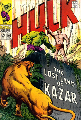 The Incredible Hulk 109 - The Monster and the Man-Beast!