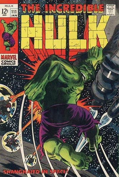 The Incredible Hulk 111 - Shanghied in Space!