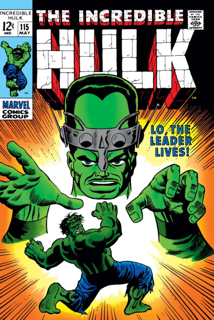 The Incredible Hulk 115 - Lo, The Leader Lives