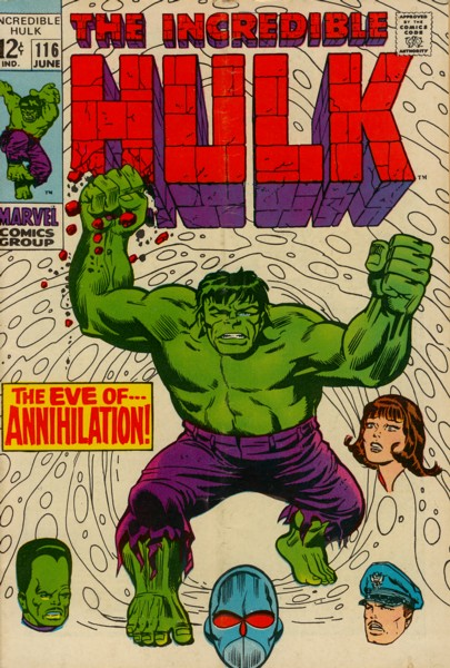 The Incredible Hulk 116 - The Eve of Annihilation!