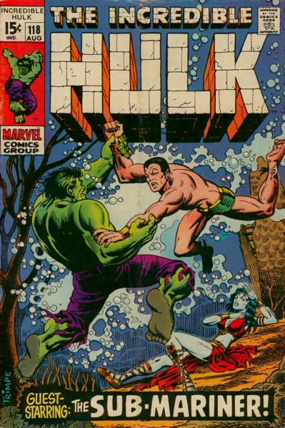 The Incredible Hulk 118 - A Clash of Titans