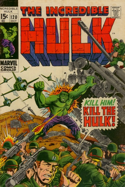 The Incredible Hulk 120 - On the Side of... ...the Evil Inhumans!