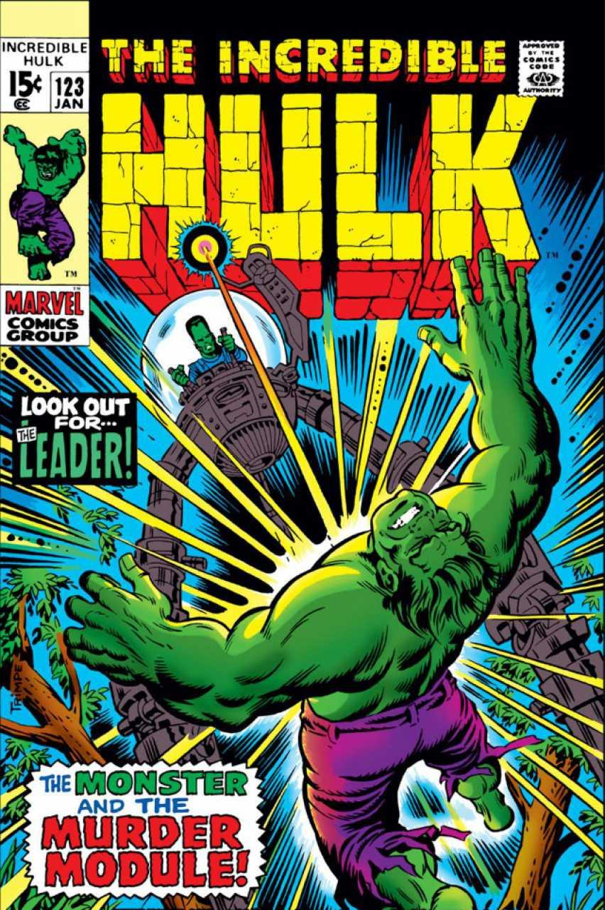 The Incredible Hulk 123 - No More The Monster!