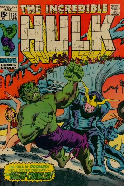 The Incredible Hulk 126 - ... Where Stalks the Night-Crawler!