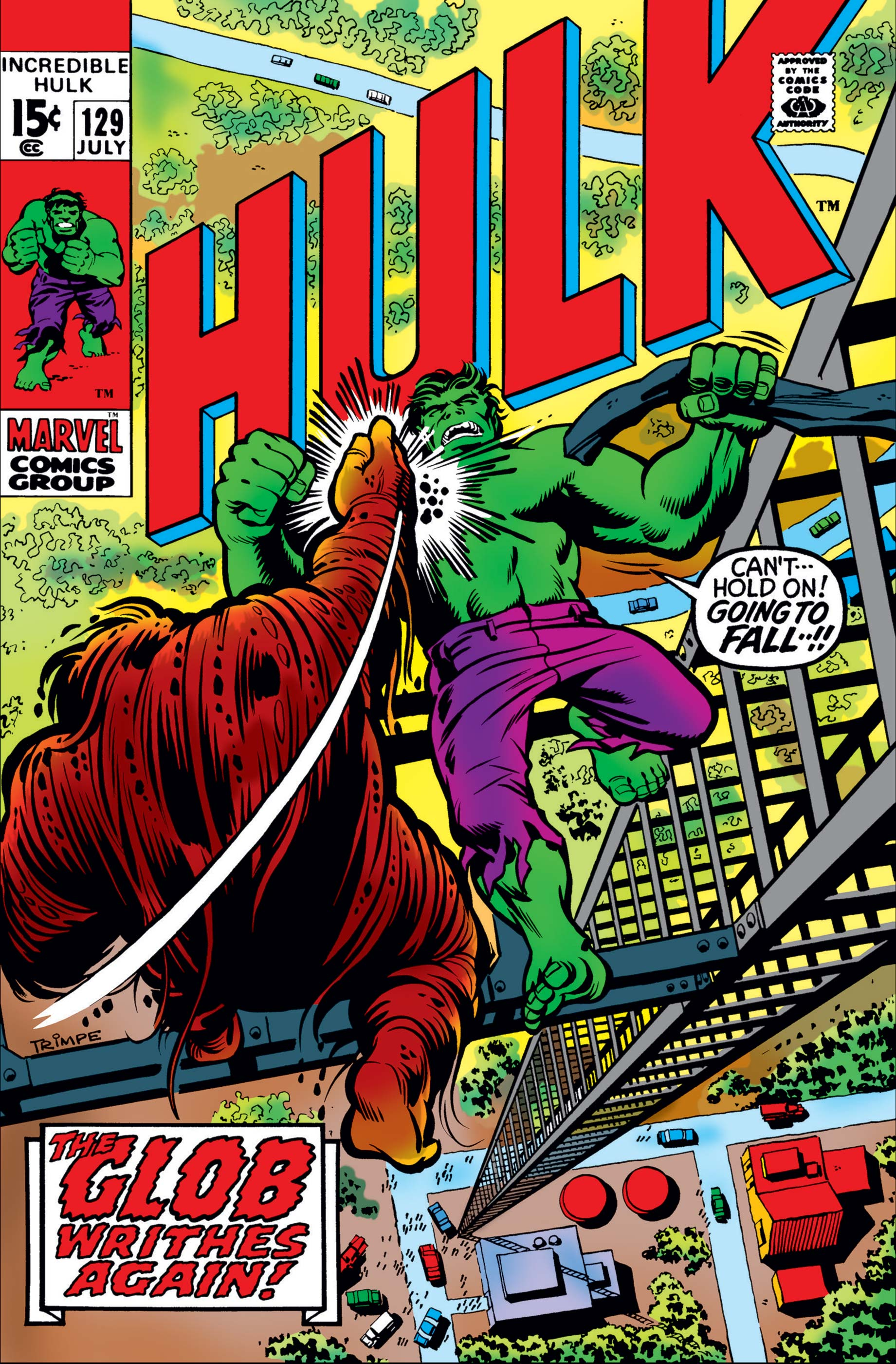 The Incredible Hulk 129 - Again, The Glob!