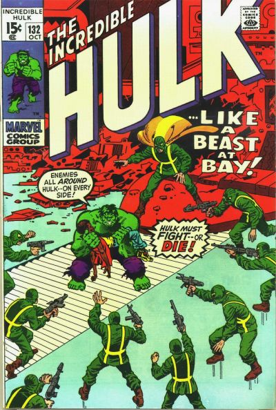 The Incredible Hulk 132 - In the Hands of Hydra!