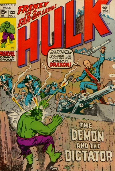 The Incredible Hulk 133 - Day of Thunder-- Night of Death!