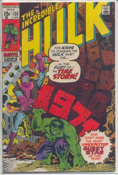 The Incredible Hulk 135 - Descent Into the Time-Storm!