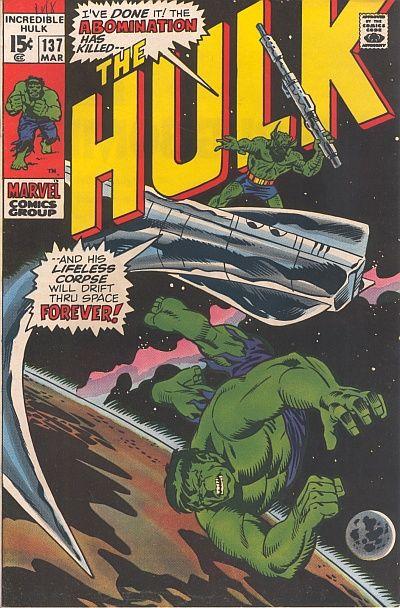 The Incredible Hulk 137 - The Stars, Mine Enemy!