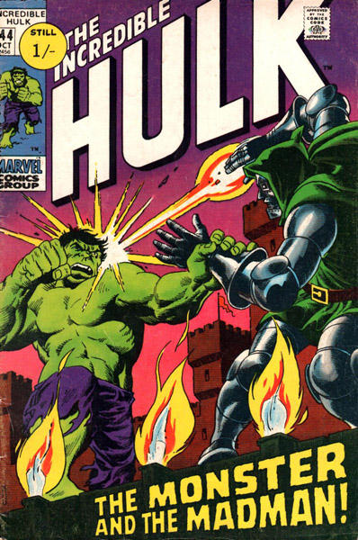 The Incredible Hulk 144 - The Monster and the Madman!