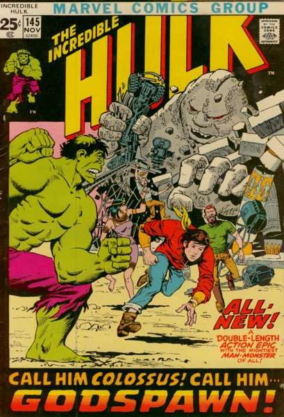 The Incredible Hulk 145 - Godspawn