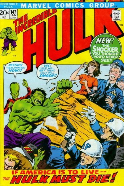 The Incredible Hulk 147 - The End of Doc Samson!