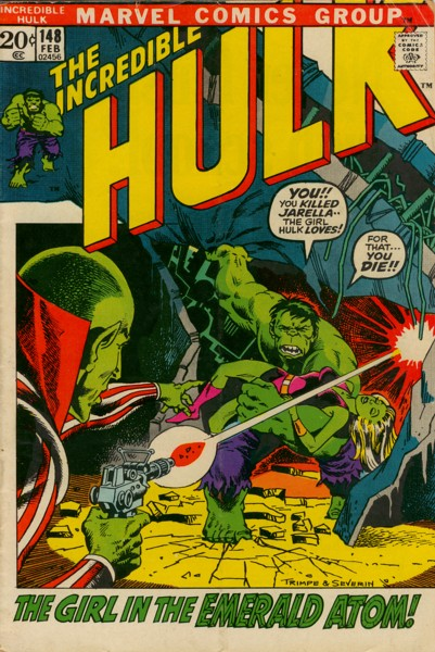 The Incredible Hulk 148 - But Tomorrow -- The Sun Shall Die!