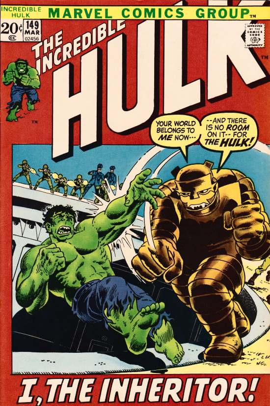The Incredible Hulk 149 - The Inheritor!