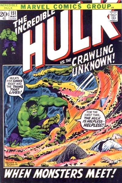 The Incredible Hulk 151 - When Monsters Meet!