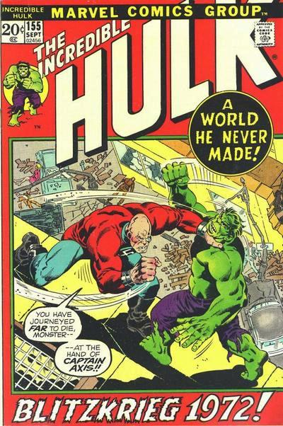 The Incredible Hulk 155 - Destination: Nightmare!