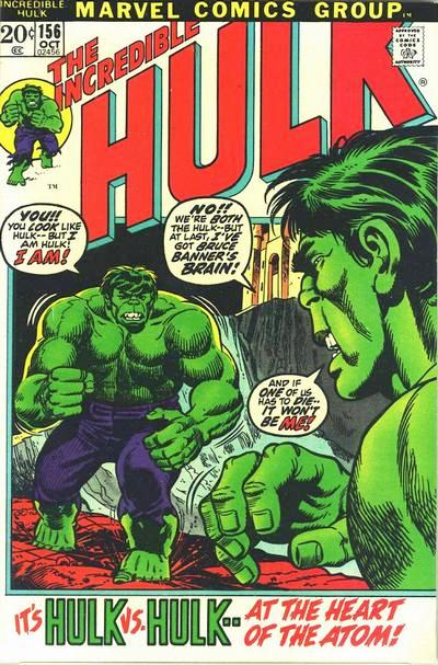 The Incredible Hulk 156 - Holocaust at the Heart of the Atom!