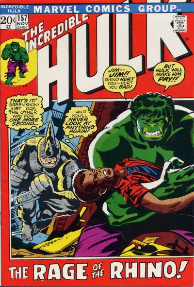 The Incredible Hulk 157 - Name My Vengeance: Rhino!