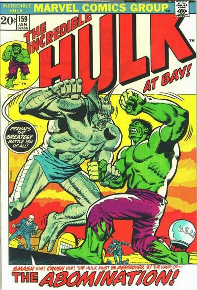 The Incredible Hulk 159 - Two Years Before the Abomination!