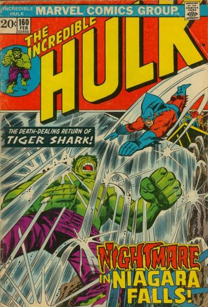 The Incredible Hulk 160 - Nightmare in Niagara Falls!