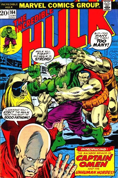 The Incredible Hulk 164 - The Phantom From 5,000 Fathoms!