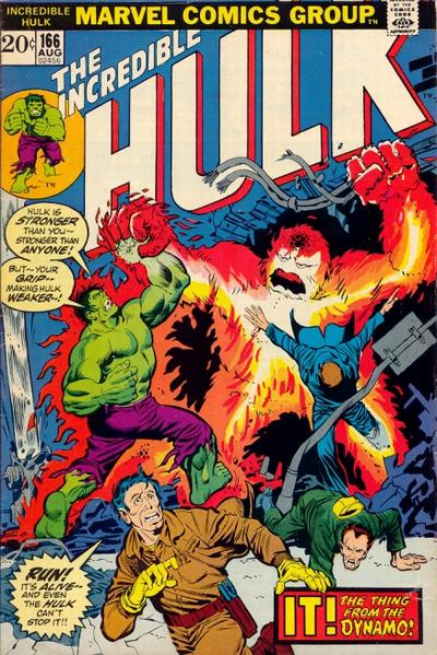 The Incredible Hulk 166 - The Destroyer From the Dynamo!