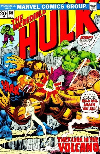 The Incredible Hulk 170 - Death From on High!