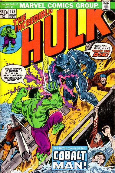 The Incredible Hulk 173 - Anybody Out There Remember... The Cobalt Man?