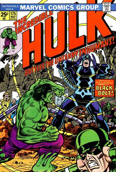 The Incredible Hulk 175 - Man-Brute in the Hidden Land!
