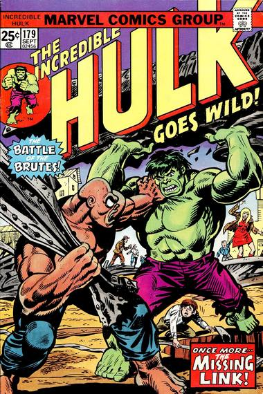 The Incredible Hulk 179 - Re-Enter: The Missing Link!