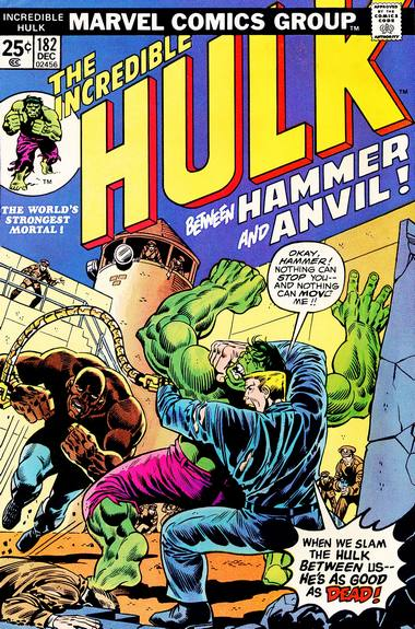 The Incredible Hulk 182 - Between Hammer and Anvil!
