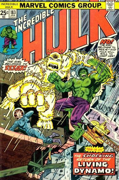 The Incredible Hulk 183 - Fury at 50,000 Volts!