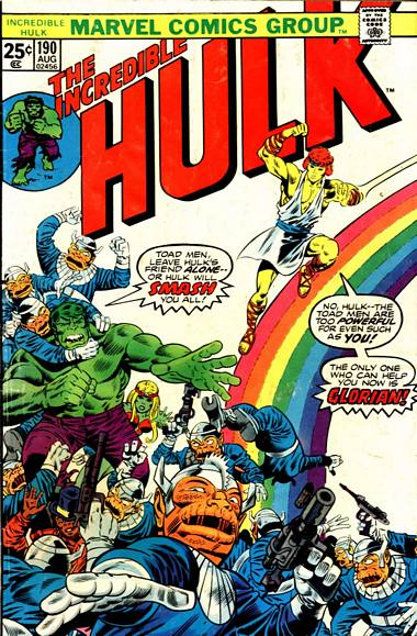 The Incredible Hulk 190 - The Man Who Came Down on a Rainbow!