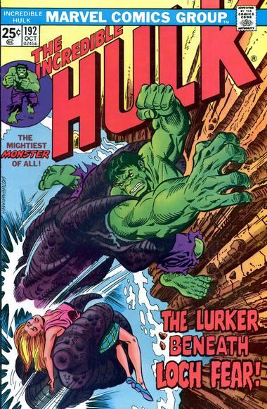 The Incredible Hulk 192 - The Lurker Beneath Loch Fear!