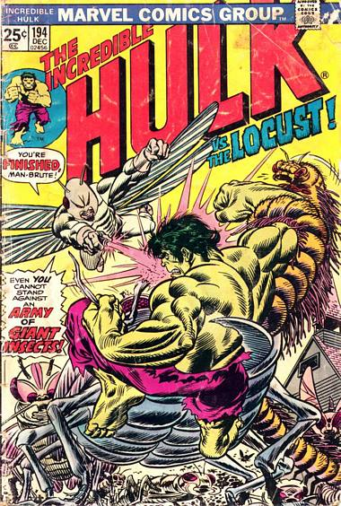The Incredible Hulk 194 - The Day of the Locust!