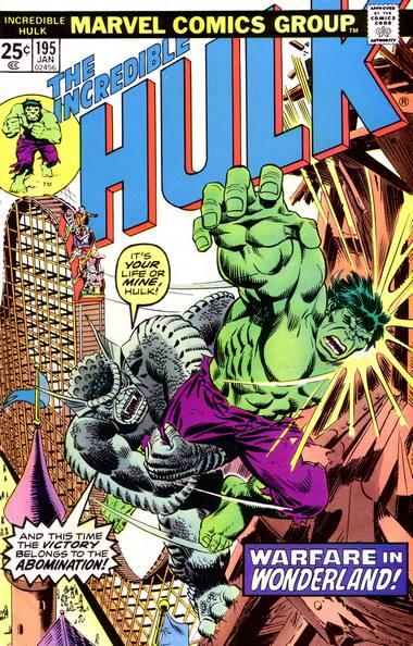 The Incredible Hulk 195 - Warfare in Wonderland!